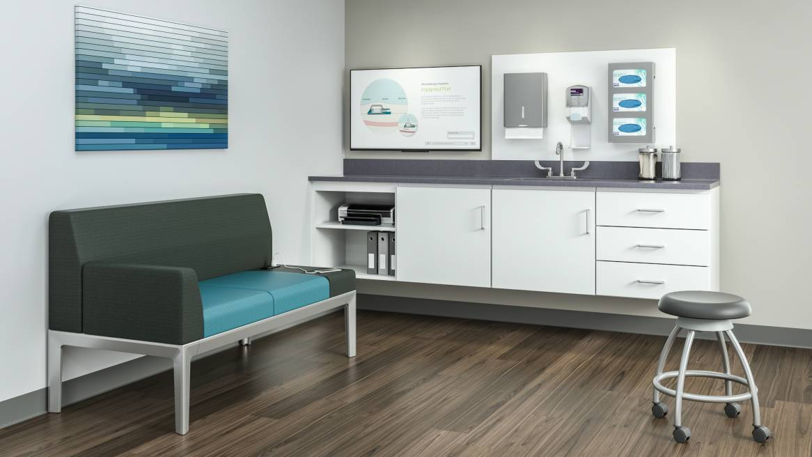 Folio Healthcare Exam Room Cabinets  Storage  Steelcase