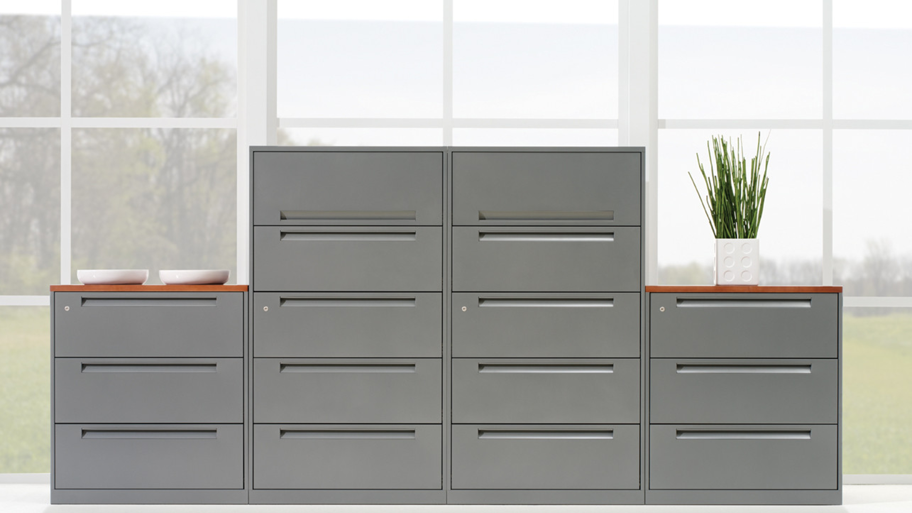 TS Series Lateral File Cabinets & Storage