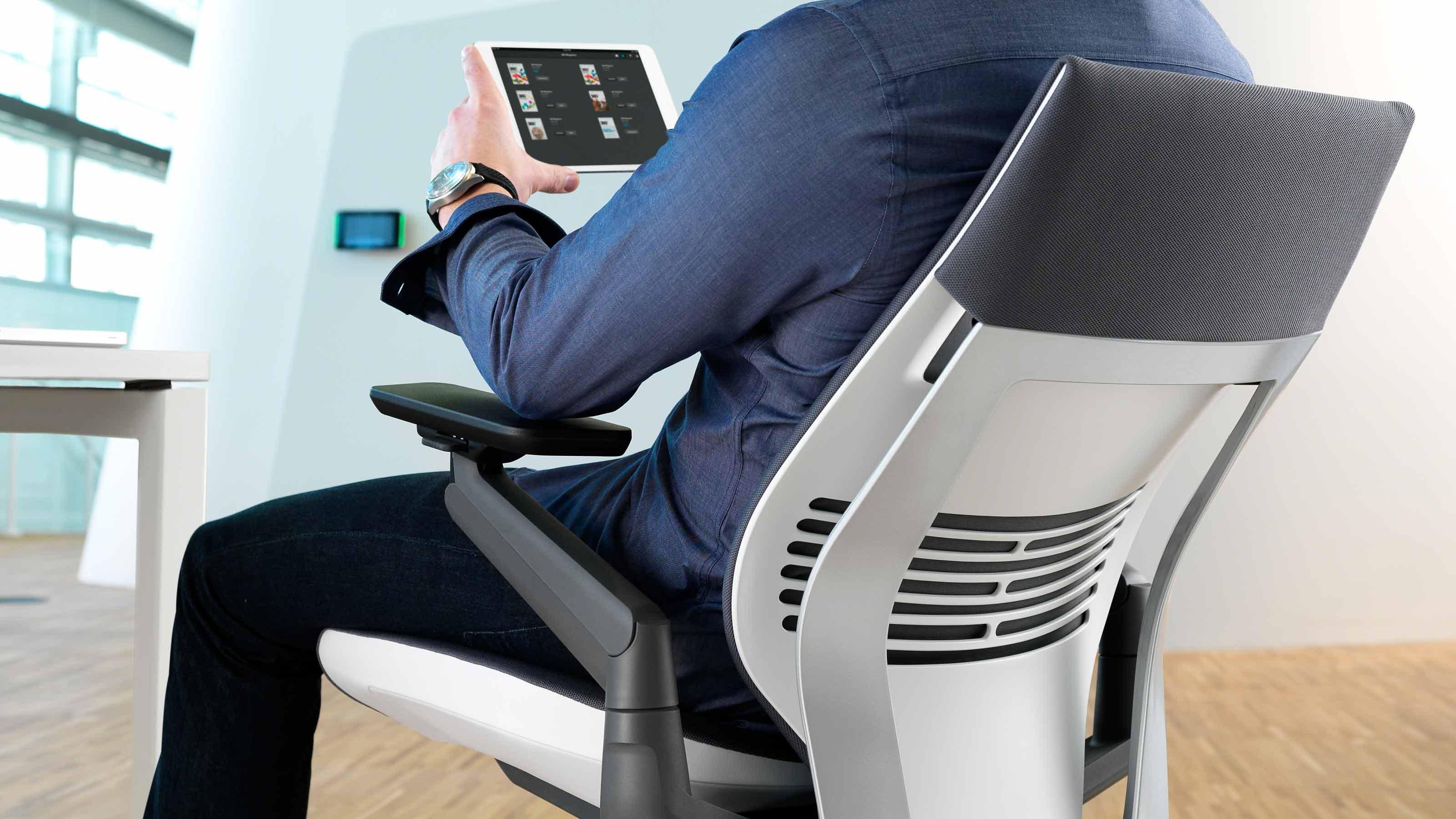 Gesture Ergonomic Office  Desk Chair  Steelcase