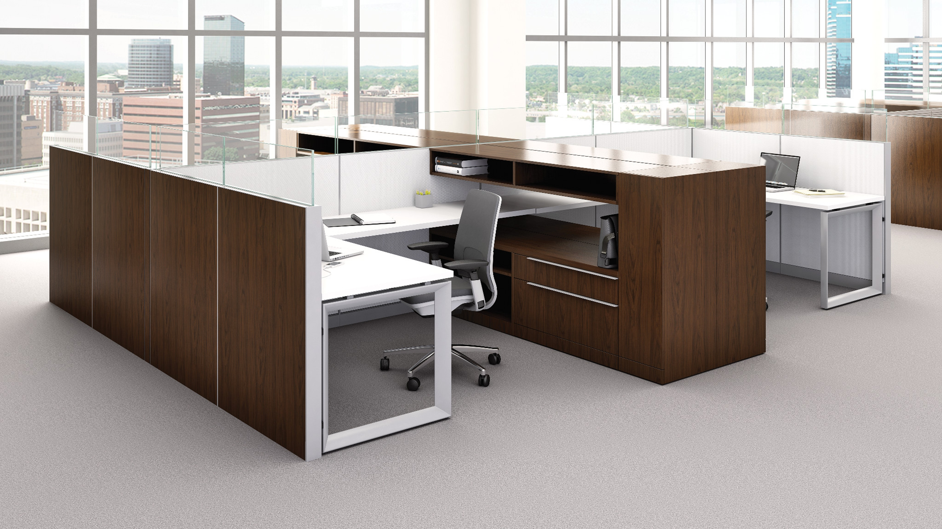 Montage Office Workstation & Panel Systems Steelcase