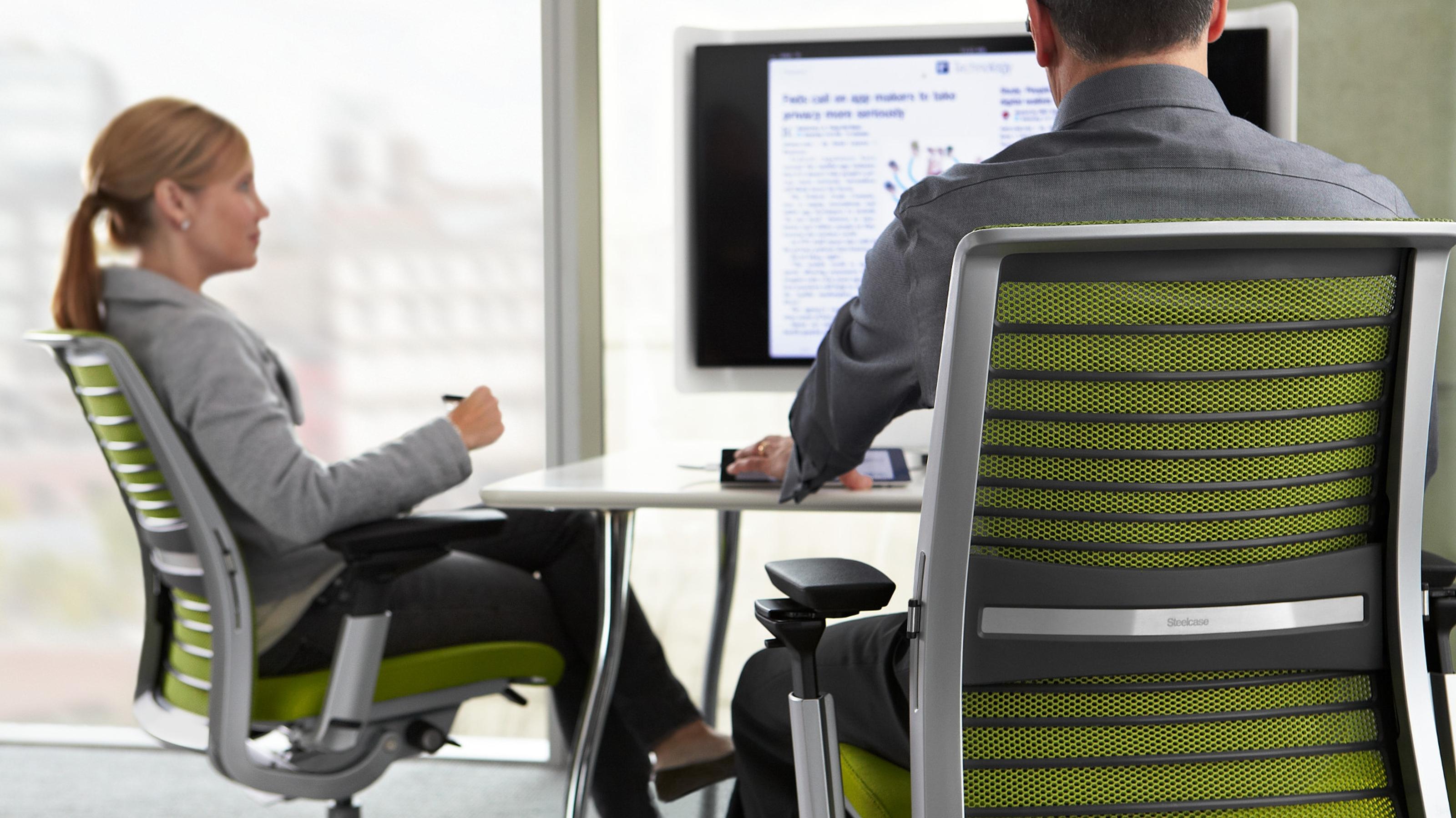 ergonomic chair buy hanging nest ikea think & adjustable office - steelcase