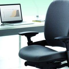 Back Support Office Chairs South Africa Black Fuzzy Chair Leap Ergonomic & Adjustable - Steelcase
