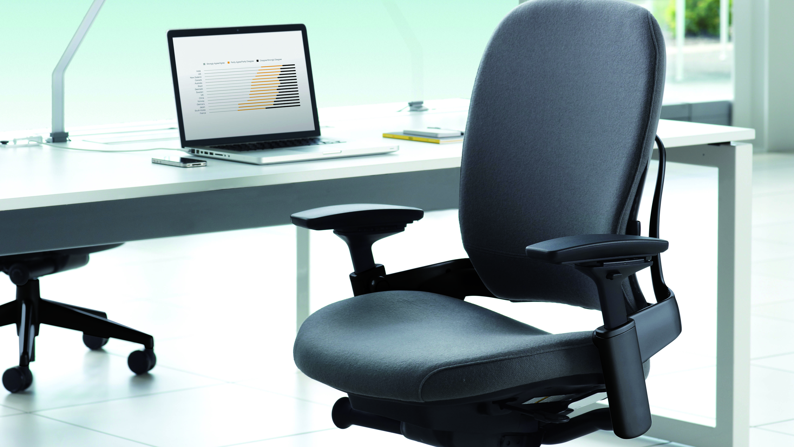 steelcase leap chair high that clips on table ergonomic and adjustable office