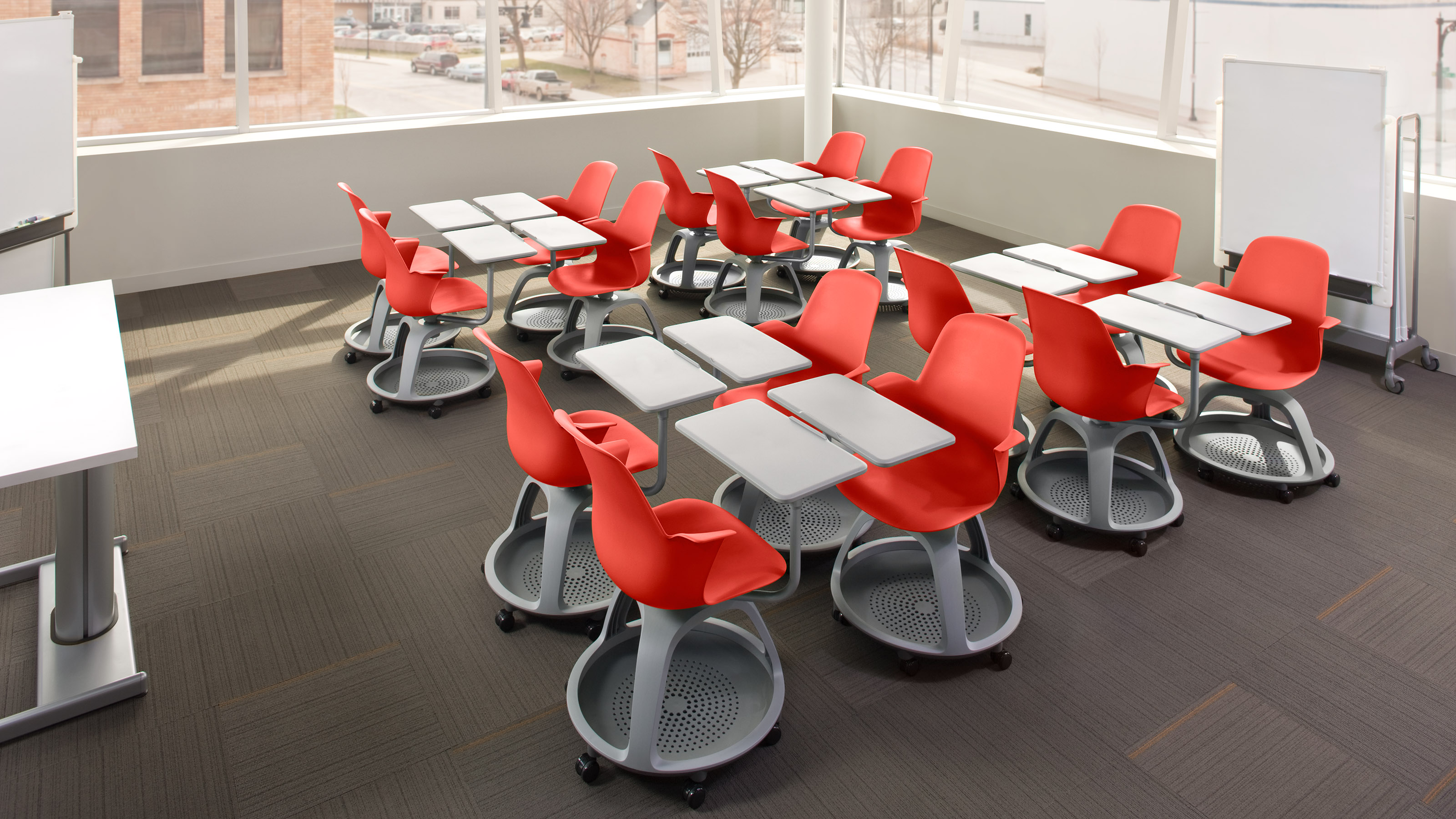 steelcase classroom chairs la z boy chair how design affects student engagement –