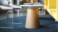 Turnstone Modern Campfire Paper Table - Steelcase