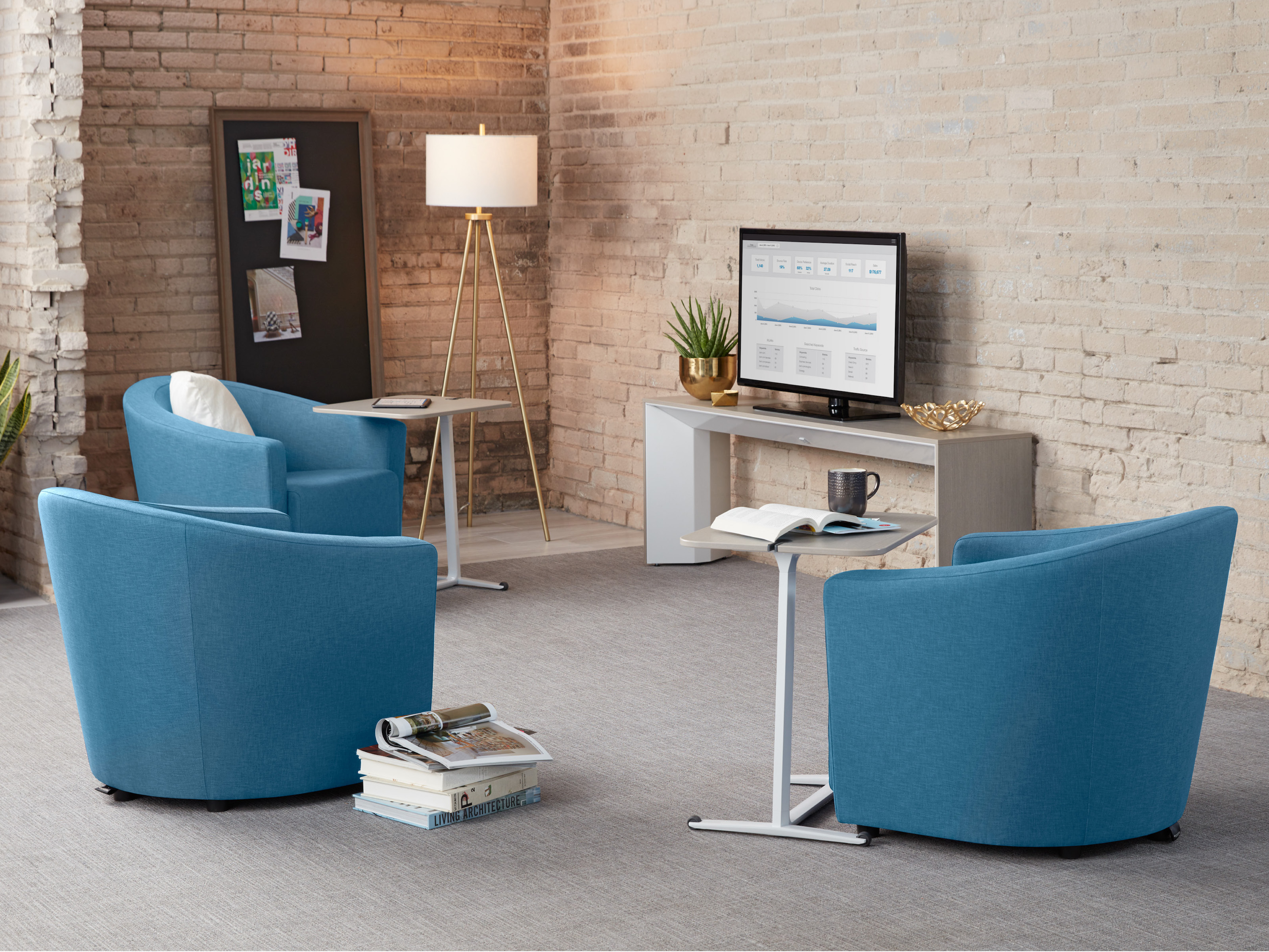 Turnstone Jenny Side & Guest Chairs - Steelcase