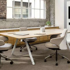 Back Support Office Chairs South Africa Swing Chair No Stand Coalesse Potrero415 Conference And Collaborative Tables