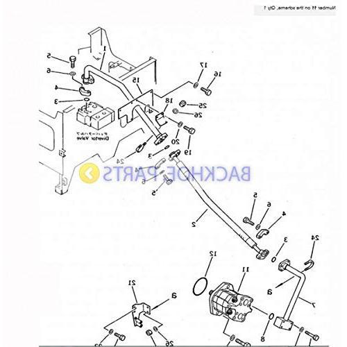 For Komatsu Wheel Loader 558 WA500-1 WA500-3 WD500-3
