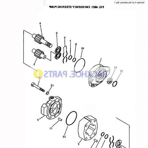 For Komatsu Wheel Loader WA350-1 WA400-1 WA380-1 WA420-1