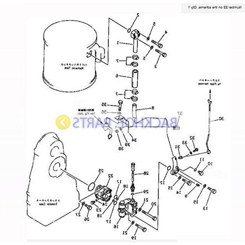 For Komatsu Wheel Loader WA400-1-A WA420-1 WA420-3 Emergency