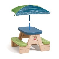 Sit & Play Picnic Table with Umbrella   Step2