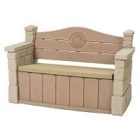 Step2 Outdoor Storage Bench Garden Deck Box Patio Seat ...