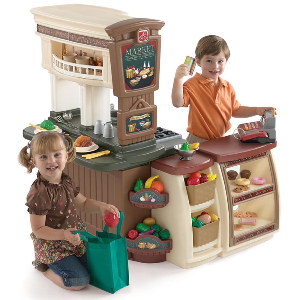 Fresh Market Kitchen  Kids Play Kitchen  Step2