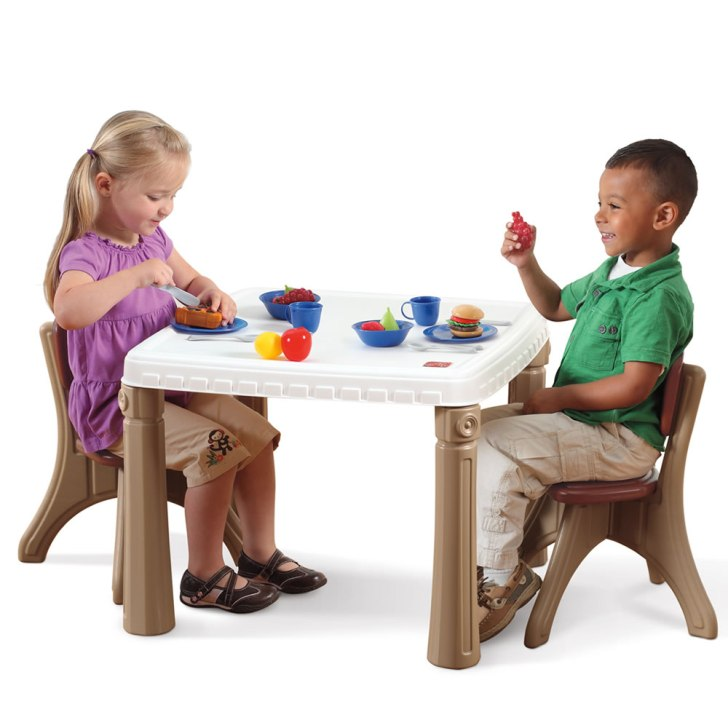 Lifestyle Kitchen Table Chairs Set Kids Furniture Step2