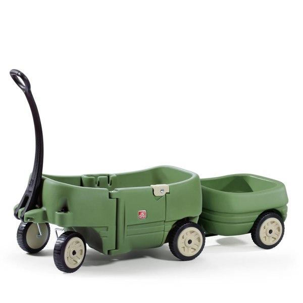 Wagon Two & Tag Trailer Kids Step2