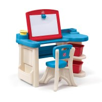 Step2 Studio Art Desk Chair Kids Table Toddler Furniture ...