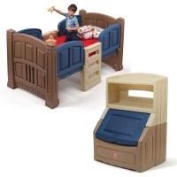 Boy's Loft & Storage Bedroom Set   Step2