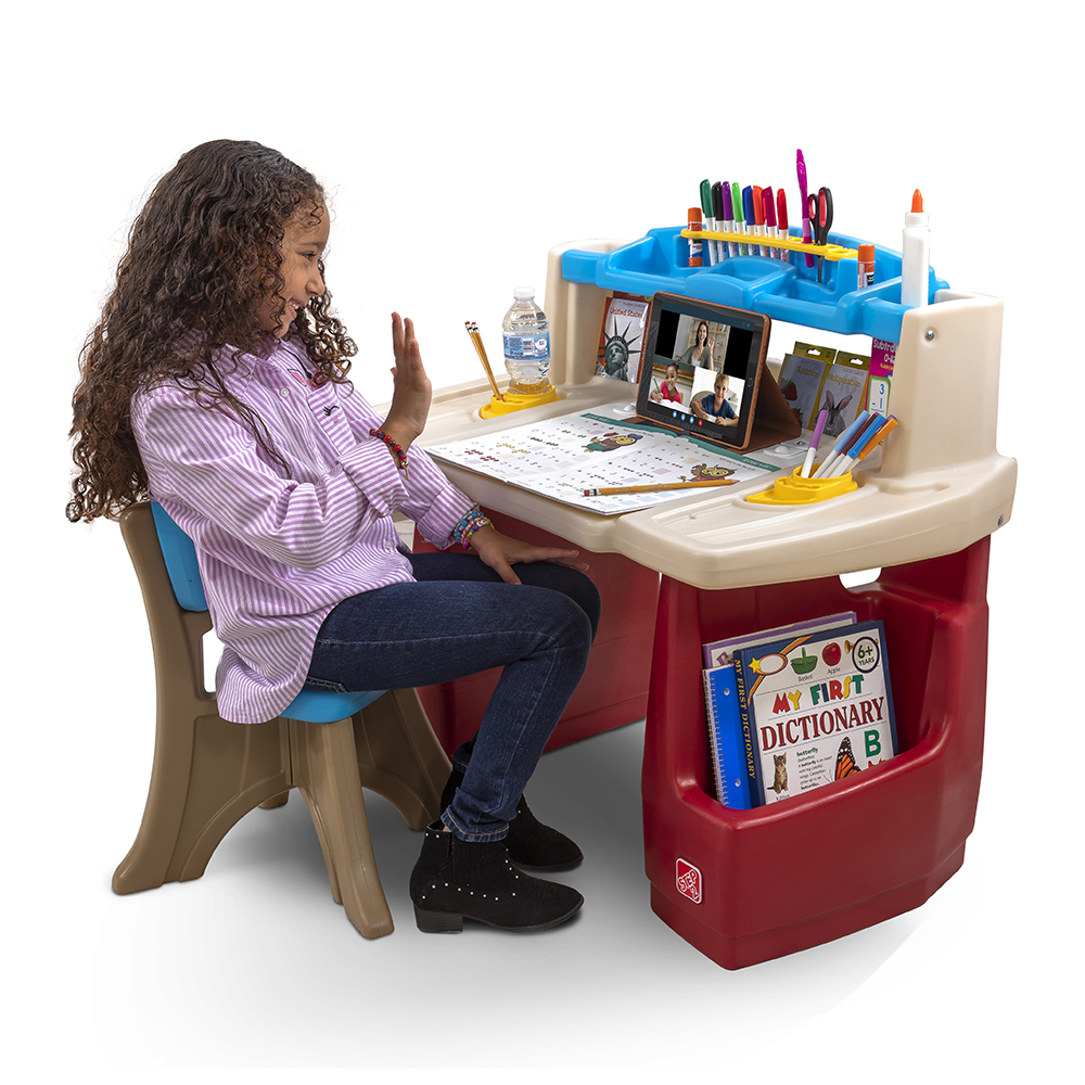 childs desk and chair cheap chairs for bedroom deluxe art master kids step2