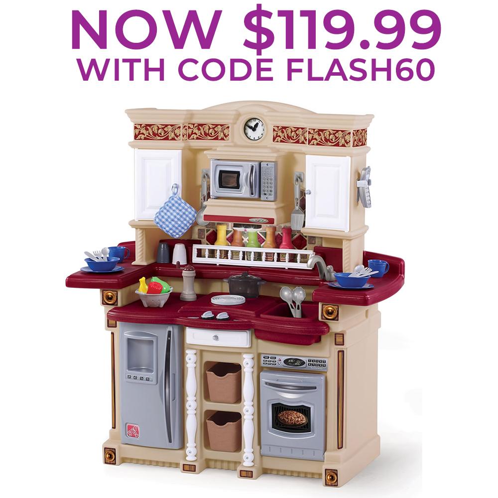 LifeStyle PartyTime Kitchen  Kids Play Kitchen  Step2