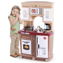 Step 2 Play Kitchens Kitchen Cabinets Amish Lifestyle Fresh Accents Kids Step2