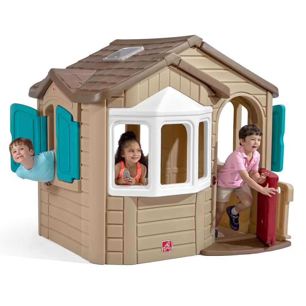 Naturally Playful Welcome Home Playhouse  Kids Playhouse