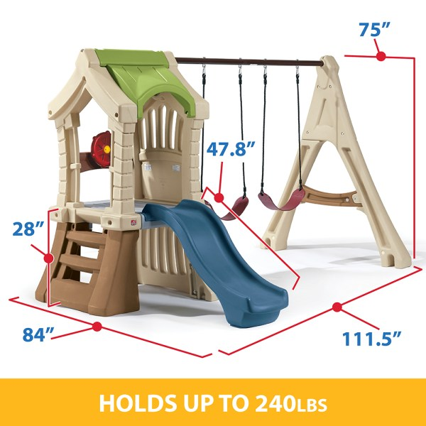 Step 2 Play Up Gym Swing Set