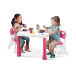 Where To Buy Toddler Table And Chairs Folding Camping Picnic Lifestyle Kitchen Set Kids Step2