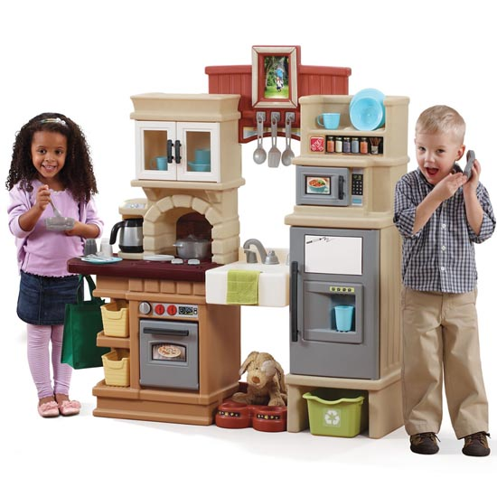 step 2 play kitchens cabinet ideas for small heart of the home kitchen kids step2