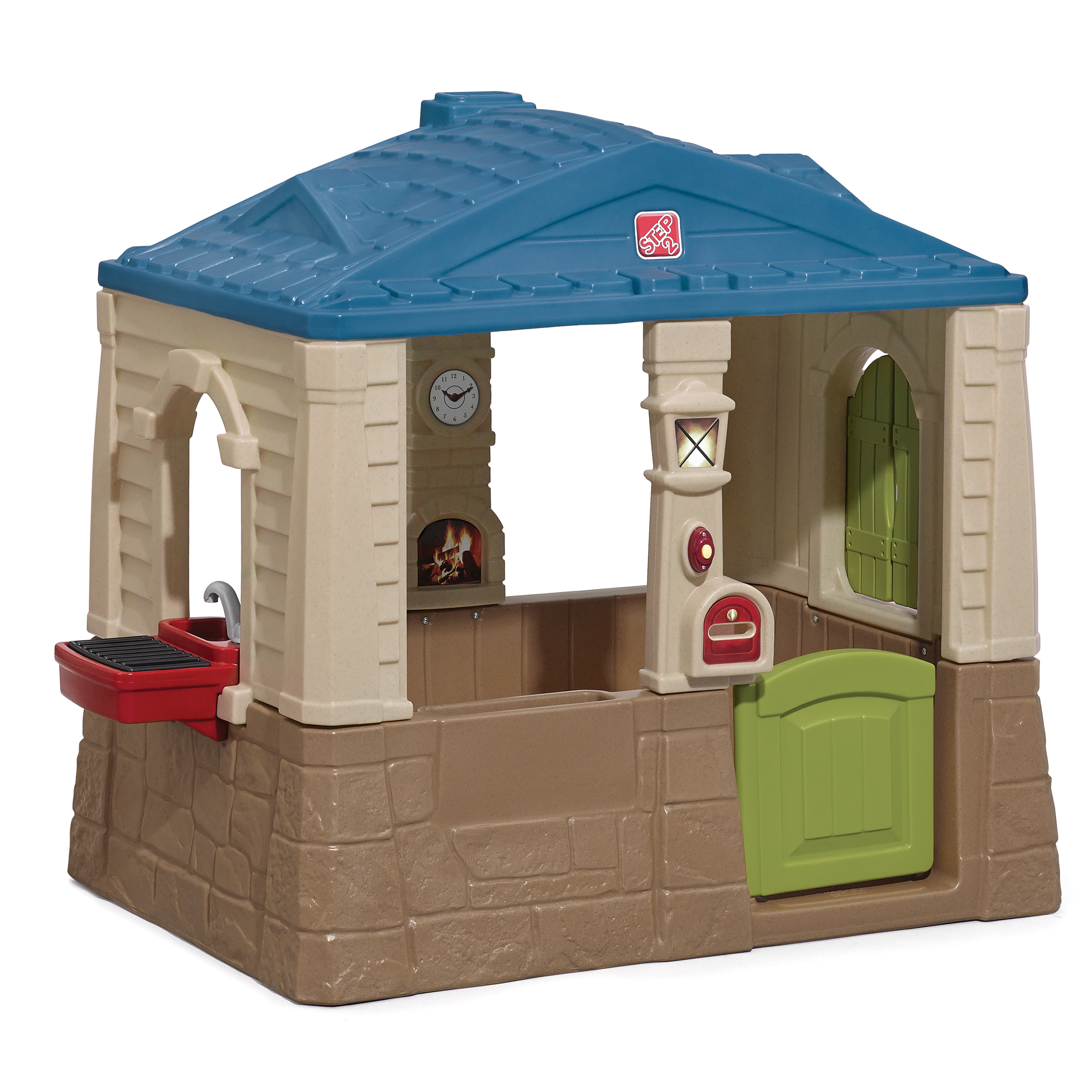 Happy Home Cottage  Grill  Kids Playhouse  Step2