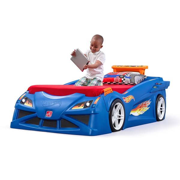 Hot Wheels Toddler-twin Race Car Bed Kids Step2