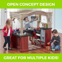 Grand Walk-In Kitchen | Kids Play Kitchen | Step2