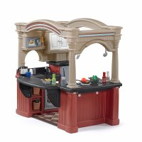 Grand Walk-In Kitchen with Extra Play Food Set | Step2