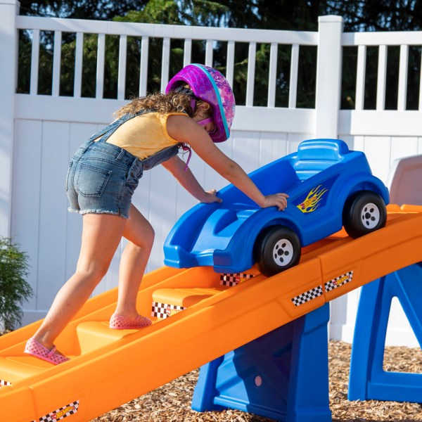 Hot Wheels Extreme Thrill Coaster Kids Step2