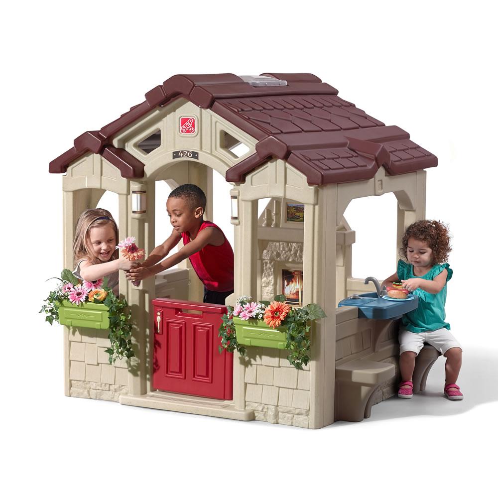 Charming Cottage  Kids Playhouse  Step2