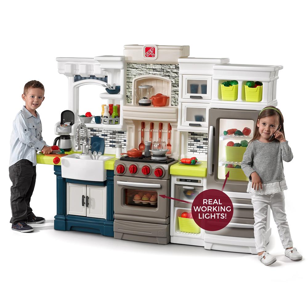 Elegant Edge Kitchen  Kids Play Kitchen  Step2