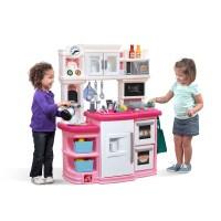 Great Gourmet Kitchen - Pink | Kids Play Kitchen | Step2