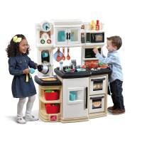 Great Gourmet Kitchen - Tan | Kids Play Kitchen | Step2