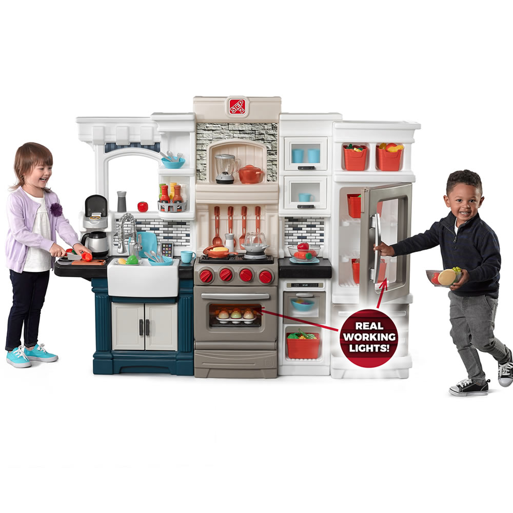 Grand Luxe Kitchen  Kids Play Kitchens  Step2
