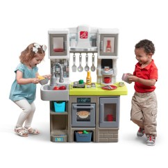 Play Kitchens For Boys Kitchen Carts With Seating Contemporary Chef Kids Step2