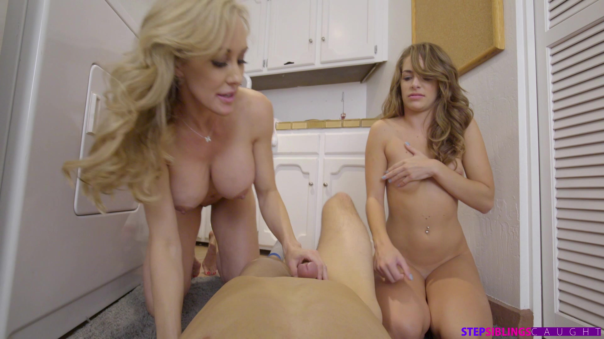 StepSiblingsCaught.com - Brandi Love,Kimmy Granger: Sorority Mom Fucks Step Sister And Brother - S1:E5