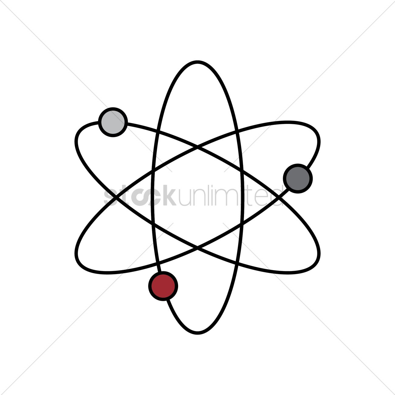 Atomic Structure Vector Image