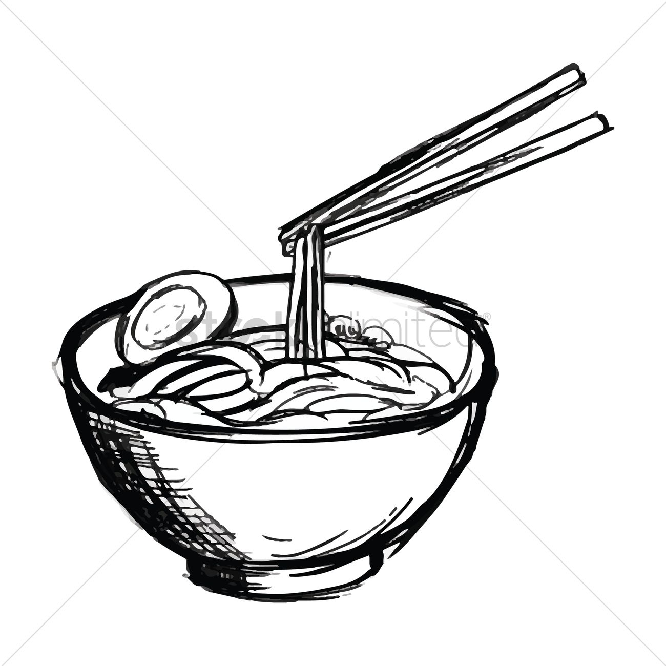Noodles Coloring Pages