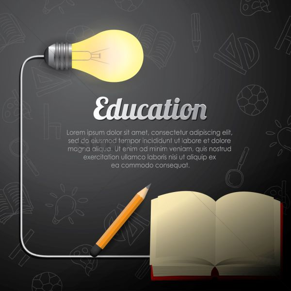 Education Wallpaper Vector - 1821879 Stockunlimited