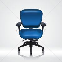 Office chair Vector Image - 1528044 | StockUnlimited