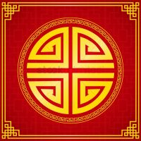 Oriental chinese design elements Vector Image