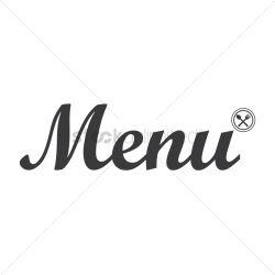 menu restaurant icon vector graphic stockunlimited illustration
