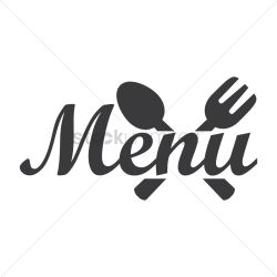 menu restaurant icon vector illustration graphic stockunlimited logos clip clipart sign menus text banners designs graphics icons banner templates layout