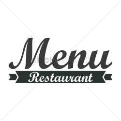 menu restaurant icon vector stockunlimited sign graphic vectorified