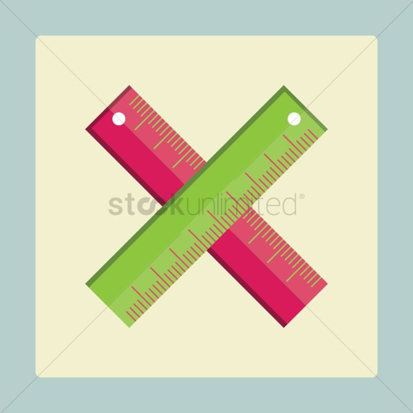 Rulers Vector - 1255375 Stockunlimited