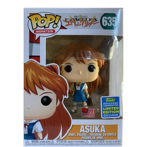 funko pop animation evangelion asuka summer convention figure 635